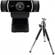 Webcam Full HD Logitech C922 Pro Stream Com Microfone 1080P e Tripe Incluso