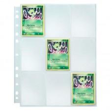 Refil Plástico Para Álbum de Cards 10F 9 Bolsos