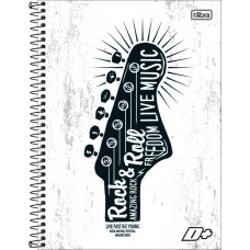 CADERNO 400 CD MAIS TILIBRA 128228