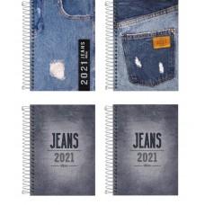Agenda 2 Dias por Página Jeans