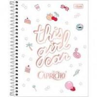 CADERNO 160 CD CAPRICHO 177X240 TILIBRA