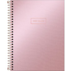 CADERNO 160 CD WEST VILLAGE METALIZADO T