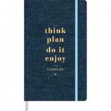 Planner Cambridge Denim Costurado