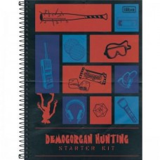 CADERNO 80 CD STRANGER THINGS TILIBRA