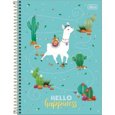 CADERNO 080 CD TILIBRA HELLO 294349
