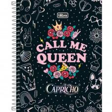 CADERNO 080 CD CAPRICHO CALL ME QUEEN TI