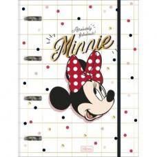 Caderno Argolado 80F CD Minnie