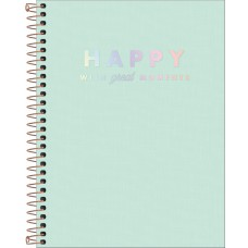 CADERNO 160 TILIBRA CD HAPPY VD 307025