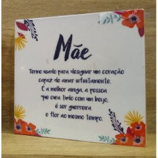 PLACA DECORATIVA BLOCO MAE GEGUTON