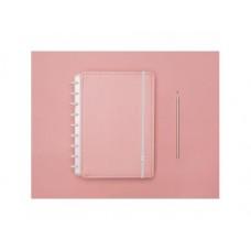 Caderno Inteligente 80F Médio Pastel Rosa