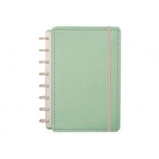 Caderno Inteligente 80F Grande Pastel Verde