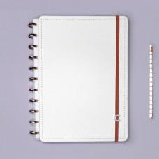 Caderno Inteligente 80F Grande All White