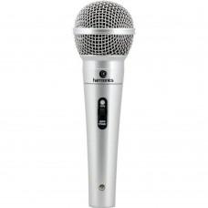 Microfone Dinâmico Super cardioide MDC-201 Harmonics Prata
