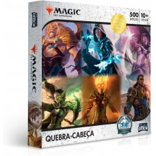 QUEBRA CABECA 500PCS MAGIC THE GATHERING
