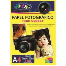 PAPEL FOTOGRAFICO 180GR A4 010FLS OF