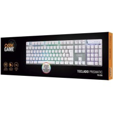 TECLADO GAMER PRISMATIC TC205  - ABNT2  - LED RAINBOW