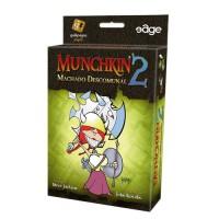 JOGO MUNCHKIN 2 MACHADO DESCOMUNHAL EXPANSAO