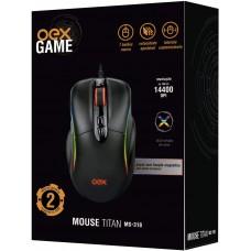 MOUSE GAMER - CRONOS MS320 - RGB -  5 BOTOES - 7.200 DPI