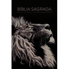 Bíblia NVT Letra Grande - Capa Soft Touch Lion Head