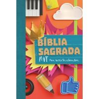 Bíblia NVT (capa colagem)