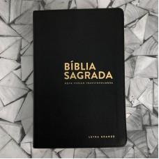 Bíblia NVT Luxo Letra Grande Preta