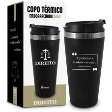 Copo Térmico 450ml  - Curso Direito
