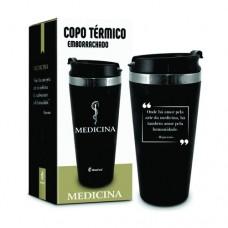 Copo Térmico 450ml  - Curso Medicina