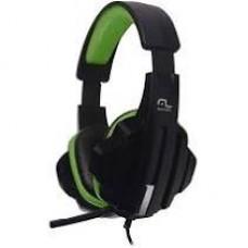 Headset Gamer Multilaser P2 Preto/Verde - PH123