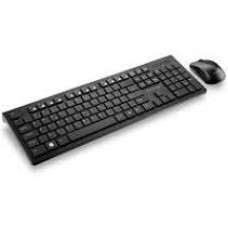 Combo Teclado E Mouse Sem Fio De Entrada Multimídia Usb Preto - TC212