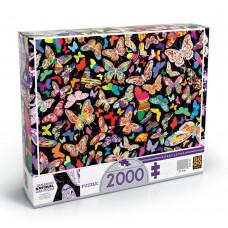 BRINQ GROW PUZZLE 2000PCS BORBOLETAS