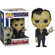Boneco Funko POP The Addams Family - Lurch with Thing 805