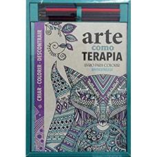 Kit Para Colorir - Arte Como Terapia