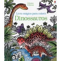 Livro mágico para colorir : Dinossauros