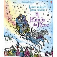 Rainha da Neve Livro Mágico Para Colorir