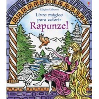 Livro mágico para colorir : Rapunzel