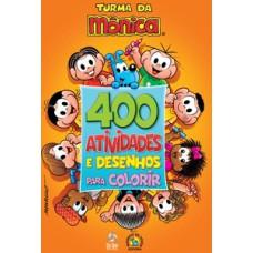 Turma da Mônica - Livro 400 atividades e desenhos para colorir