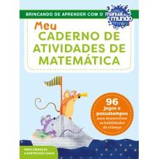 Meu caderno de atividades de matemática