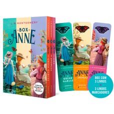 Box Anne - Anne de Green Gables, Anne de Avonlea e Anne da Ilha- (Texto integral - Clássicos Autêntica)