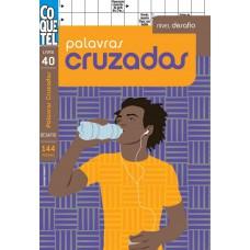 LIVRO COQUETEL PALAVRAS CRUZADAS DESAFIO 40