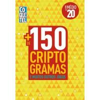LIVRO COQUETEL + 150 CRIPTOGRAMAS E MAIS OUTROS JOGOS 20