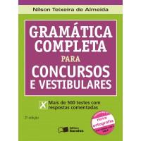Gramática completa para concursos e vestibulares