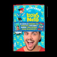 Brincando com Luccas Neto + Album de figurinhas