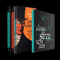 Kit Box Vilões'''' + A Casa das Sete Torres