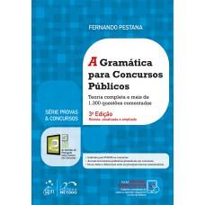 A gramática para concursos públicos