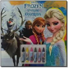 Disney - Diversao Colorida - Frozen