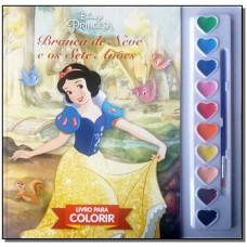 Disney Aquarela - Branca De Neve