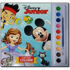 Disney Junior - Livro Para Colorir