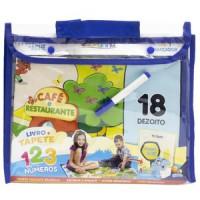 Escolinha Livro + Tapete: Procure e Ache - Números