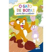 Clássicos para colorir: o Gato de Botas