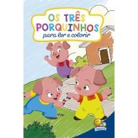 Clássicos para colorir: os Três Porquinhos